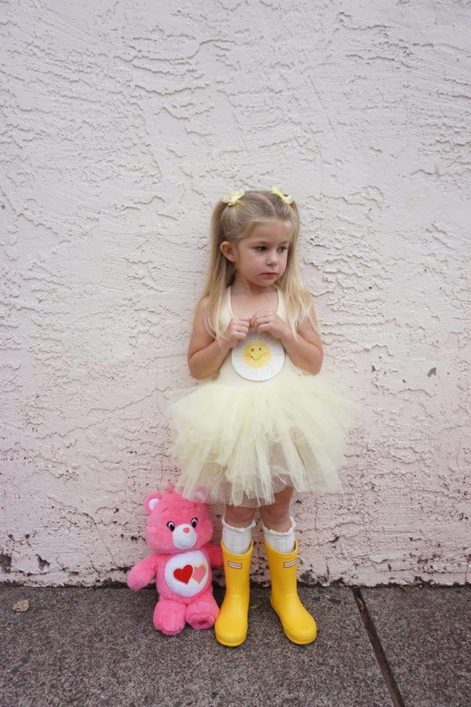 Plum NYC Tutus, DIY Halloween Costumes, toddler hunter boots, care bears, toddler style, Halloween, toddler fashion, toddler girl