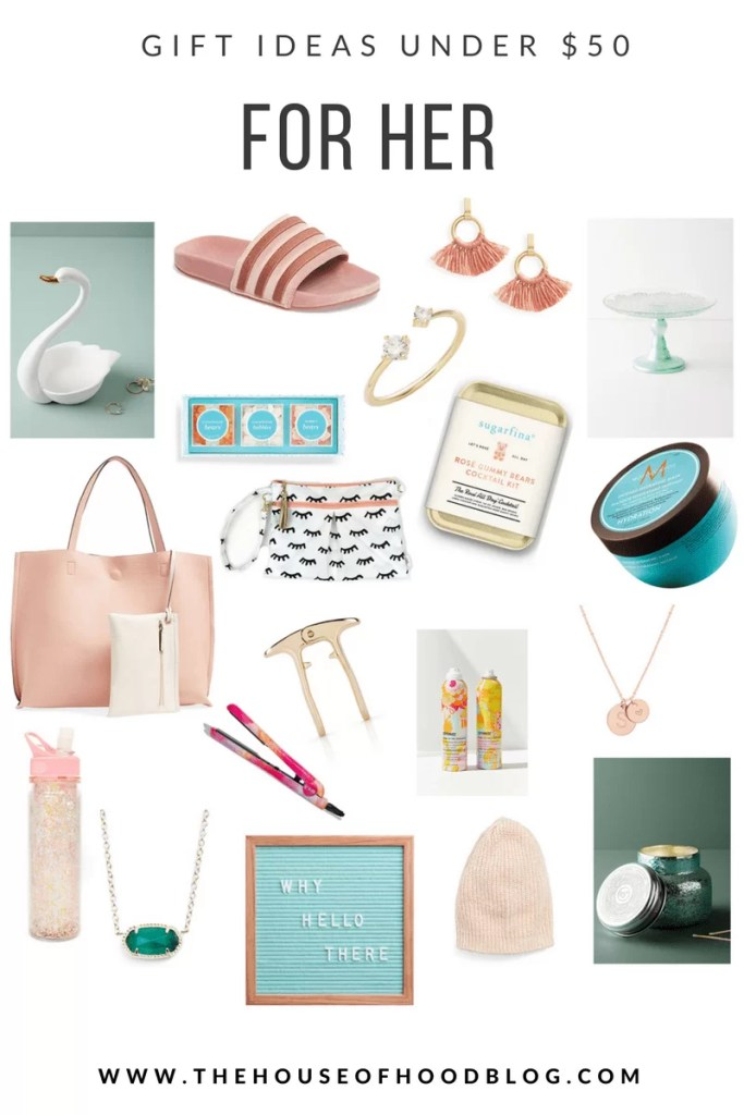 gift guide, gifts for her, under $50, rose gold, cake stand, holiday gift guide, anthropologie