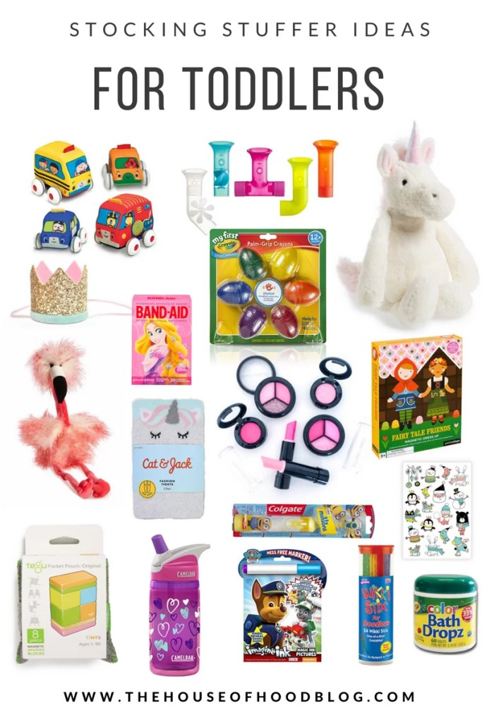 stocking stuffer ideas, gift guide, little toys for toddlers, christmas gifts, target, nordstrom, stuffed animals, pretend makeup