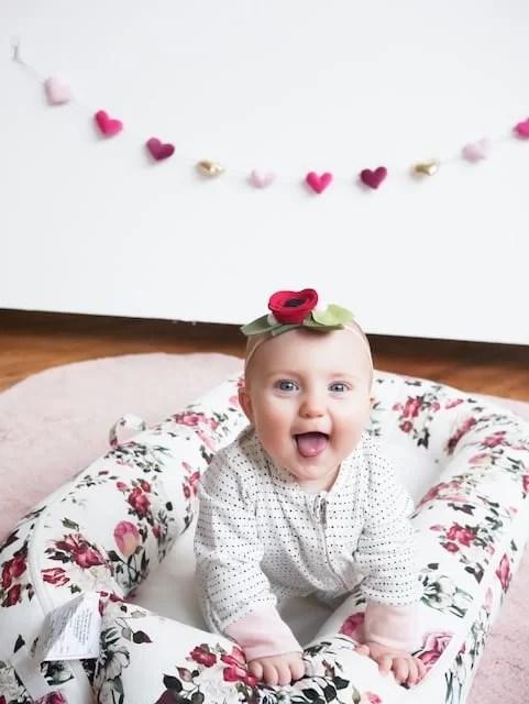 sleep schedules, newborn sleep, infant sleep, swaddle, dockatot, sleep consultant, florals, nursery decor, baby girl