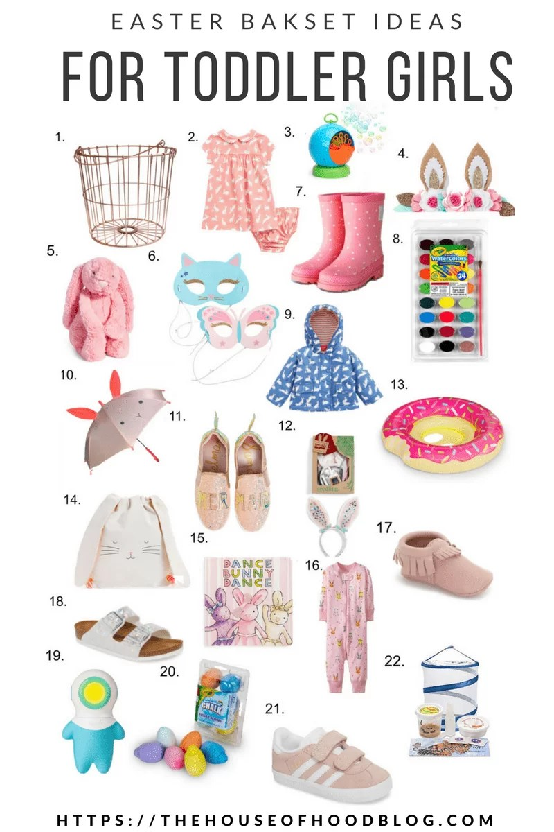 Easter basket ideas for toddler girls the house of hood blog easter basket easter gift ideas gift guide toddler girls toddler toys negle Images
