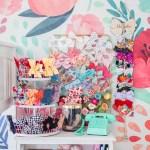 Four Hair Bow Storage And Organization Ideas