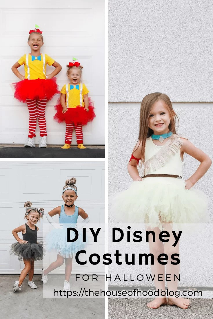 diy disney costumes (1) - the house of hood blog