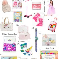 Holiday Gift Guide - Gift Ideas for 5 Year Old Girls