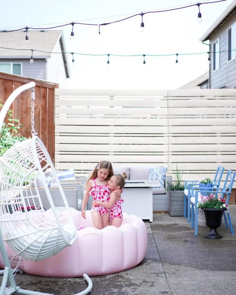 small outdoor patio decor ideas