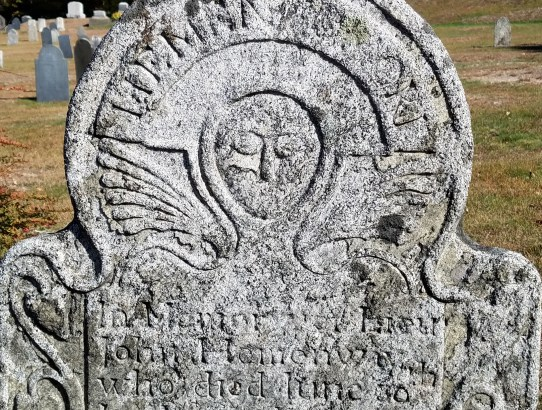 Death's Head Gravestone