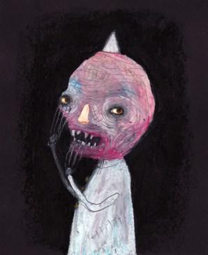"""Gary the Ghost"" by Mia Makila, 2010"
