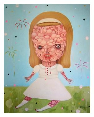 """Manic Mandy"" by Mia Makila, 2013"