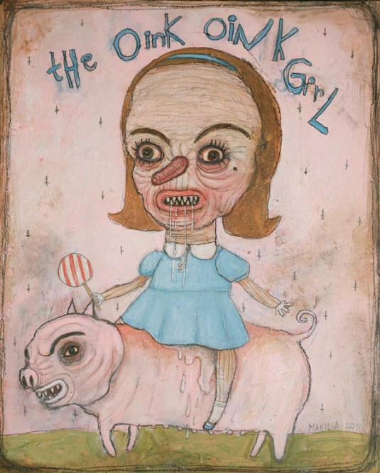 The Oink Oink Girl