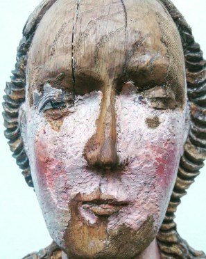 A blushing statue from the early Swedish renaissance