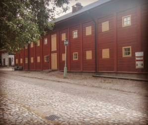 The old part of Linköping is so beautiful