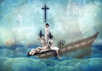 """""""Ship of Fools"""" by Mia Makila. 2008"""