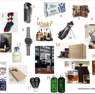Holiday Gift Guide: Men's
