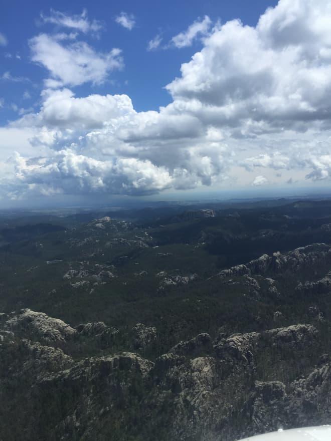 Black Hills Aerial View