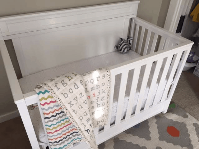 Before & After: Neutral Nursery Ideas featured by top MI lifestyle blogger, The House of Navy