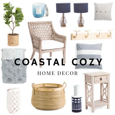 Coastal Contemporary Home Decor with TJ Maxx