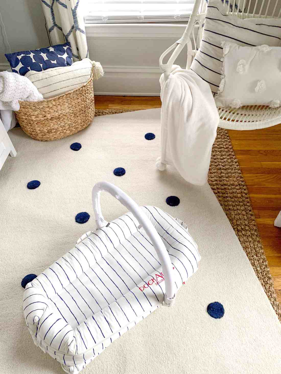 Nautical Nursery Ideas featured by top Michigan lifestyle blog, House of Navy