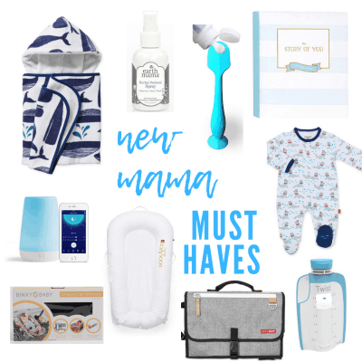 Top 10: New Mama Must Haves