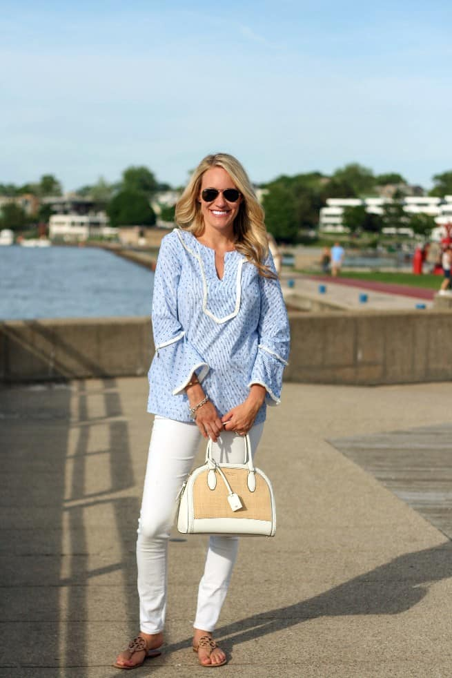 Sail to Sable summer collection featured by top Michigan fashion blog, House of Navy
