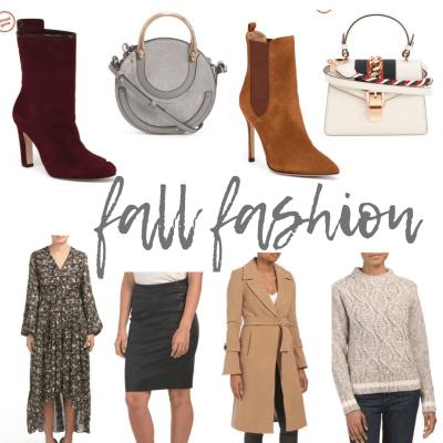 Fall Fashion with TJ Maxx