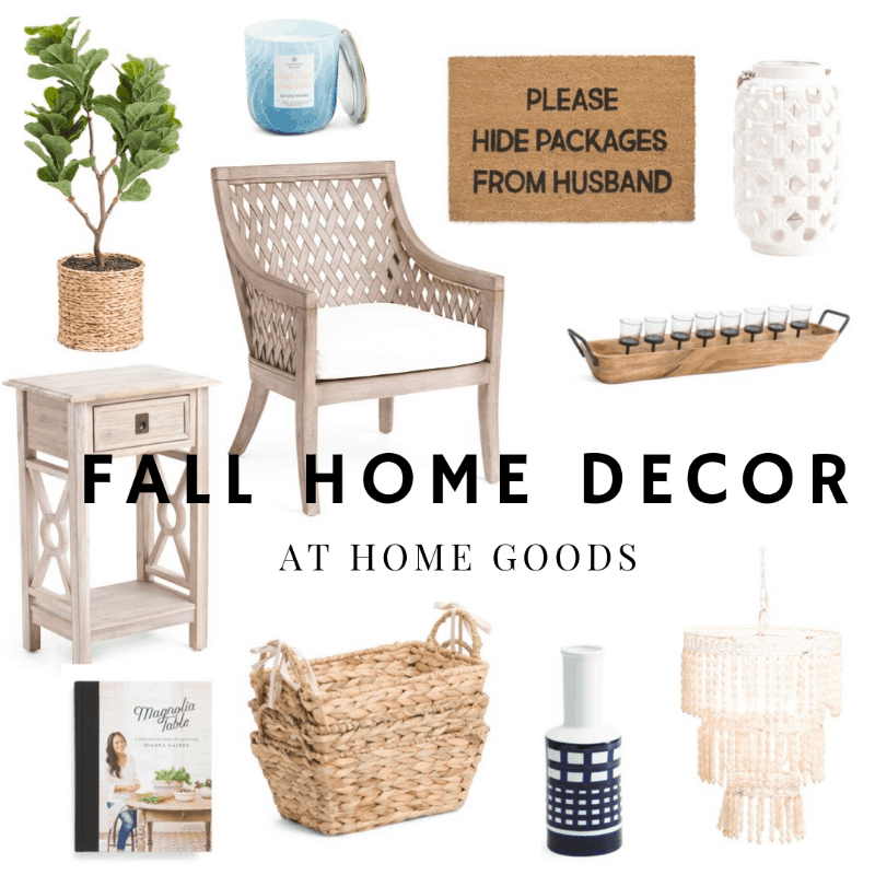 fall modern farmhouse and nautical home decor