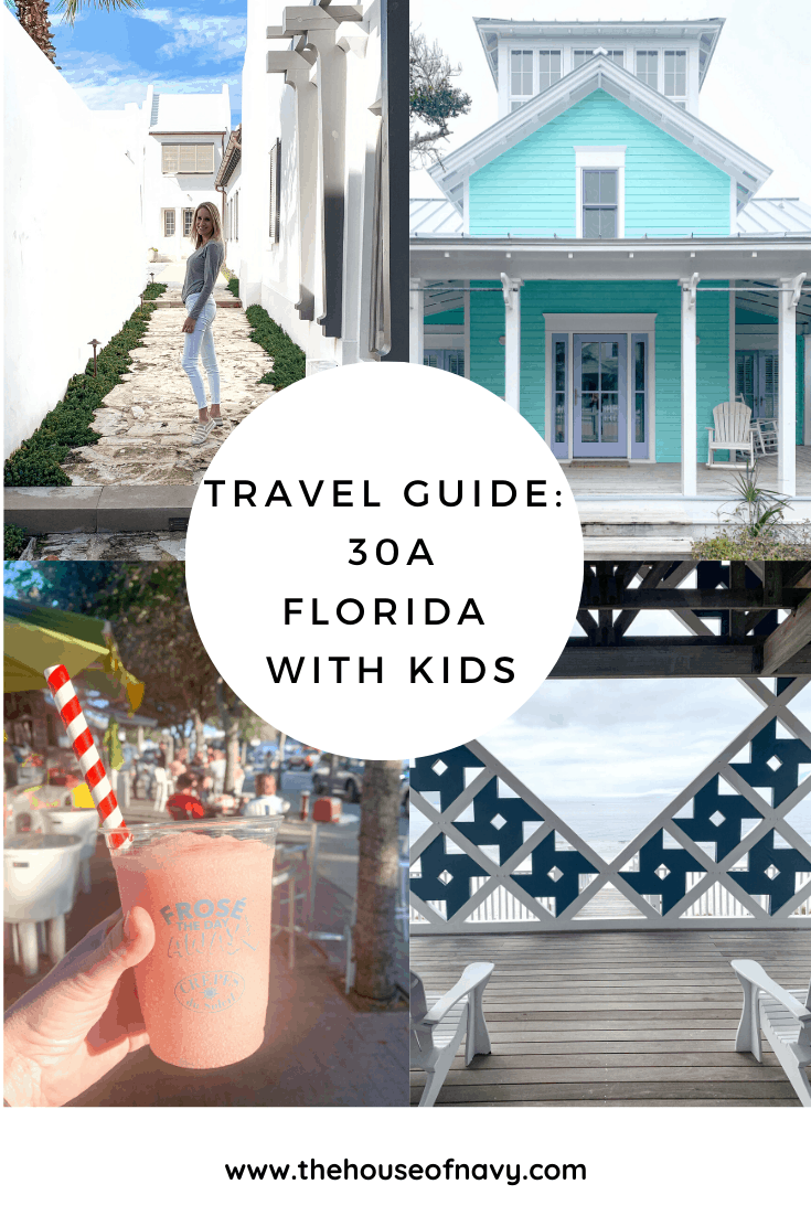 travel guide collage for florida