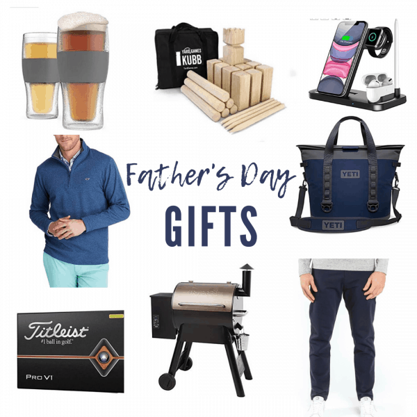 8 Top Rated Father's Day Gifts on Amazon featured by top IL lifestyle blogger, House of Navy