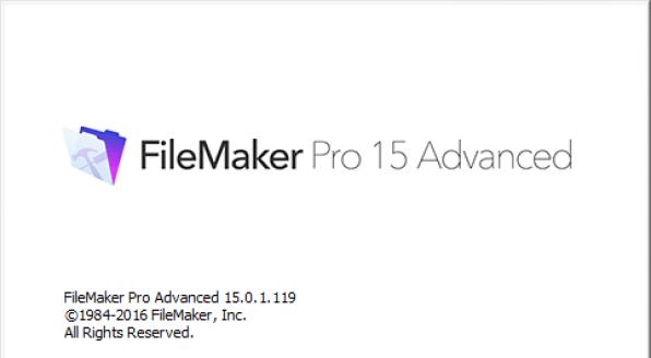 file maker pro 15 advanced protable