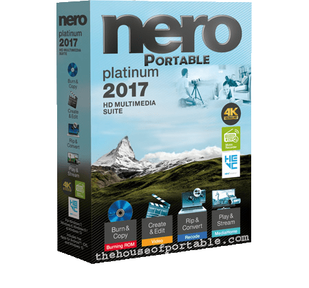 nero platinum 2017 portable