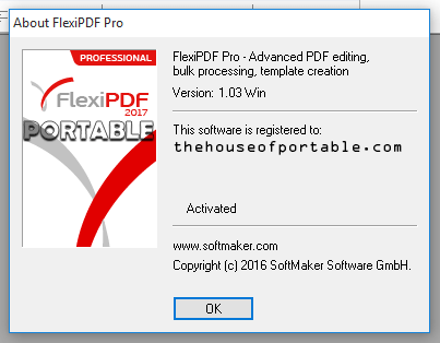 flexipdf professional 2017 portable
