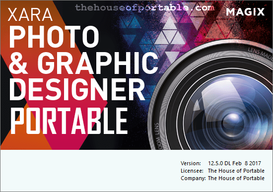 xara photo & graphic designer portable
