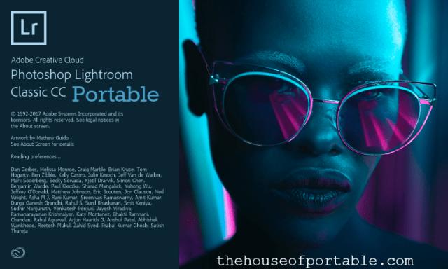 lightroom classic cc 2018 portable