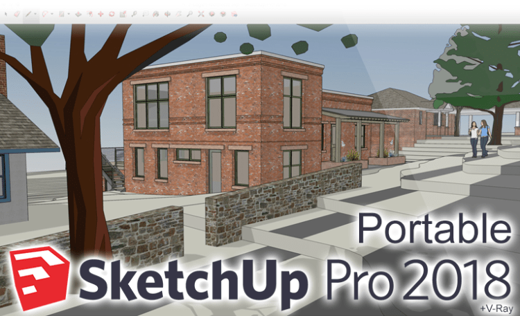 sketchup pro 2018 portable vray