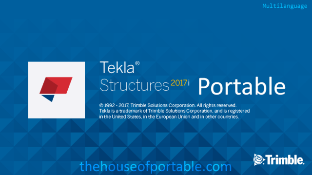 tekla structures 2017i sp1 portable