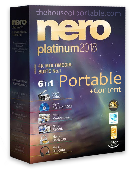nero platinum 2018 portable