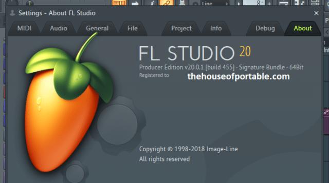 fl studio 20 signature bundle portable