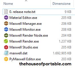 maxwell studio 4.2 portable files