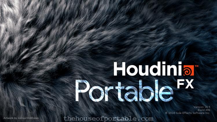 sidefx houdini fx 18.0 portable