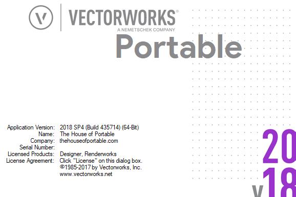 vectorworks 2018 sp4 portable
