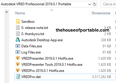 autodesk vred professional 2019 portable files