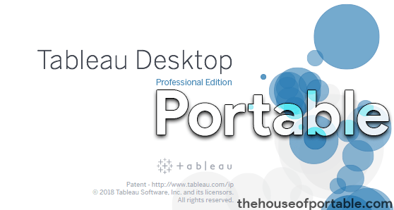 tableau desktop professional 2019 portable