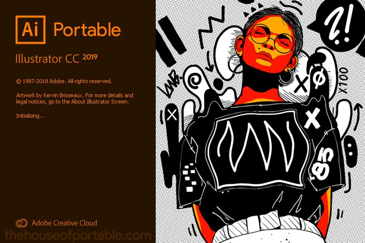 adobe illustrator cc 2019 portable