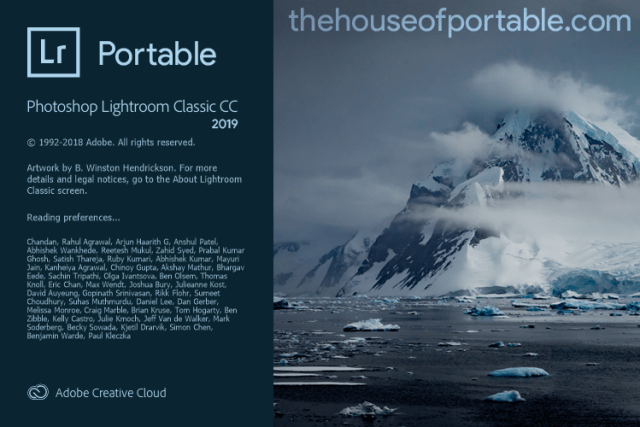 adobe lightroom classic cc 2019 portable