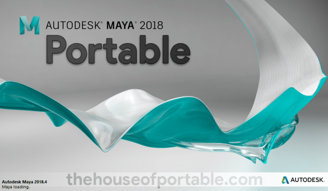 autodesk maya 2018 portable