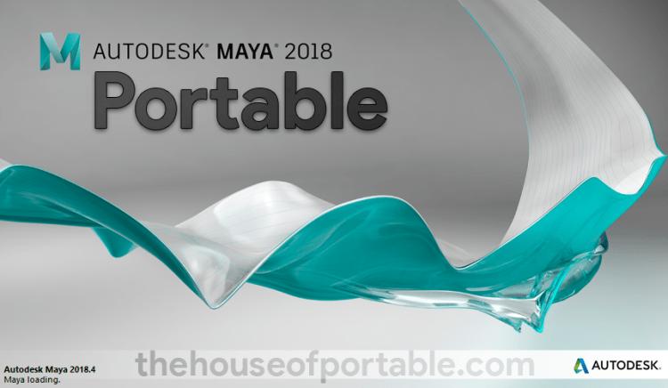 autodesk maya 2019 portable