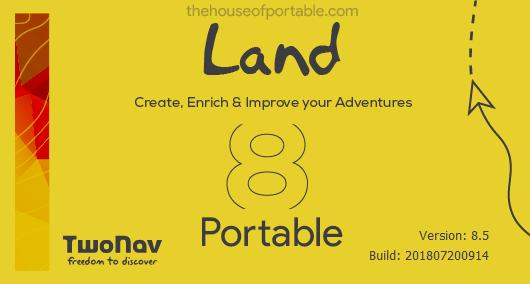 land premium 8.5 portable