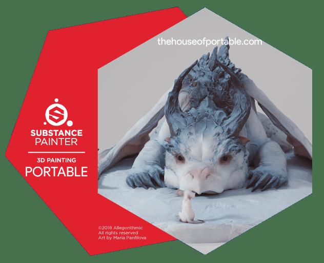 substance painter 2019 portable