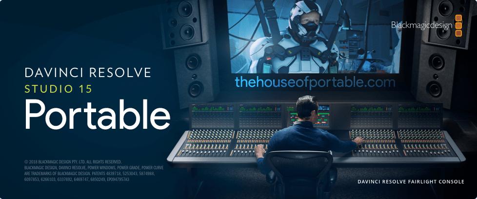 Davinci Resolve Studio 16 1 2 26 Portable Multilanguage Setup The House Of Portable