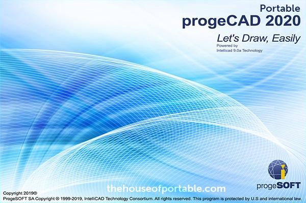 progecad 2020 portable