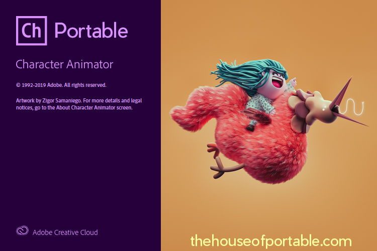 adobe character animator 2020 portable